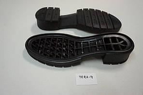 Подошва для обуви женская Терра-4 чорна р,36-41, фото 3