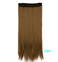 Накладные волосы  на клипсах,трессы 60 см цвета в ассортименте