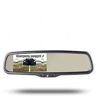 Gazer MM704 зеркало заднего вида с монитором (затемнение)