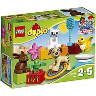 Конструктор LEGO DUPLO Домашние животные Лего Первое строительство 10838