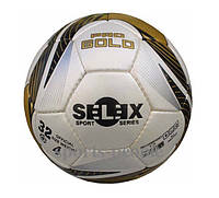 Мяч футзальный SELEX Pro Gold №4, (для мини-футбола), прыгающий