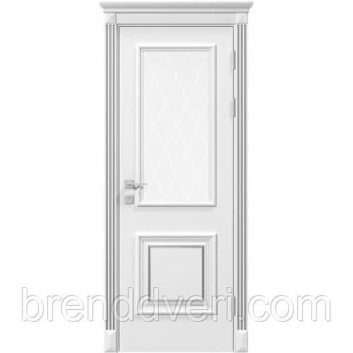 Двери Родос Модель Laura со стеклом