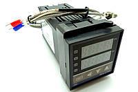 Контроллер температуры REX-C100FK02-M*AN (PID-контроллер)+термопара
