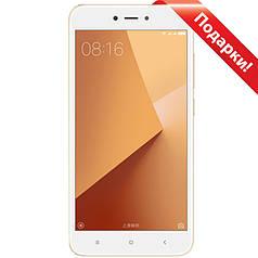 "☀Смартфон 5,5"" Xiaomi Redmi Note 5А, 2GB+16GB Золотистый 8 ядер Snapdragon Android 7 OmniVision 13 Мп 3080 mAh"