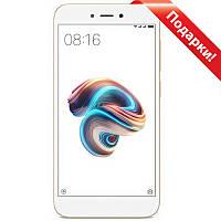 "★Смартфон 5"" Xiaomi Redmi 5A, 2/16GB Золотистый Snapdragon 425 4 ядра камера 13 Мп 3000 mAh Android 7.0"