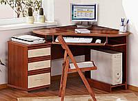 Стол компьютерный с комодом  СК-3740 755х1390х1000мм    Комфорт