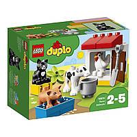 Конструктор LEGO DUPLO Ферма Домашние животные Лего Первое Строительство 10870