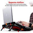Охлаждающая подставка для ноутбука Promate AirBase-3 , фото 4