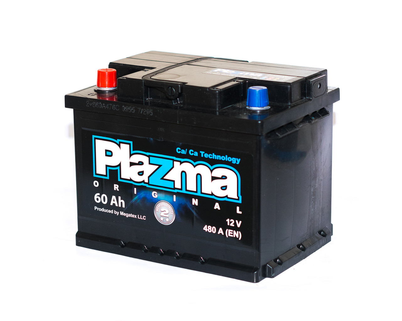 Аккумулятор автомобильный 6СТ-60Ач. 480A. Plаzma ORIGINAL