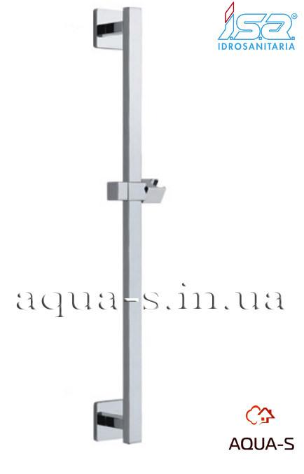 Стойка для душа ISA QUADRO хромированная 60 см. (Италия)