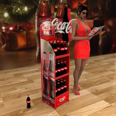 Торговые стенды для Кока Колы