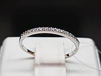 Срібне кільце з фіанітами. Артикул 901-00726 15, фото 1