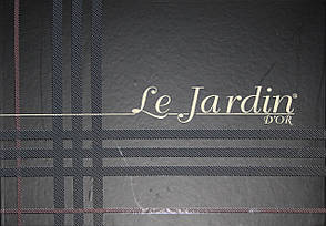 Комплект постельного белья с ажурной вставкой Le Jardin Defne Cappuccino, фото 2