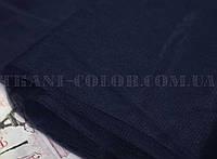Ткань фатин средней жесткости темно-синий (ширина 3м)