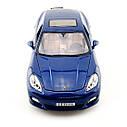 Автомодель (1:18) Porsche Panamera Turbo синий металлик, фото 3