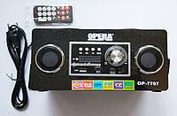 Портативная колонка  Opera OP-7707, MP3 SD USB FM