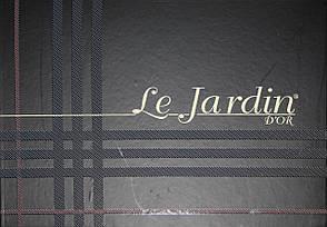 Комплект постельного белья с ажурной вставкой Le Jardin Melissa Cappuccino, фото 2