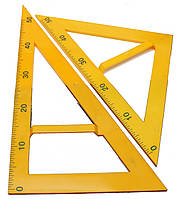 Треугольник для школьной доски  (2 предмета)