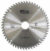 Пильный диск по алюминию Werk 210x30, 54 зуб. - 1 шт