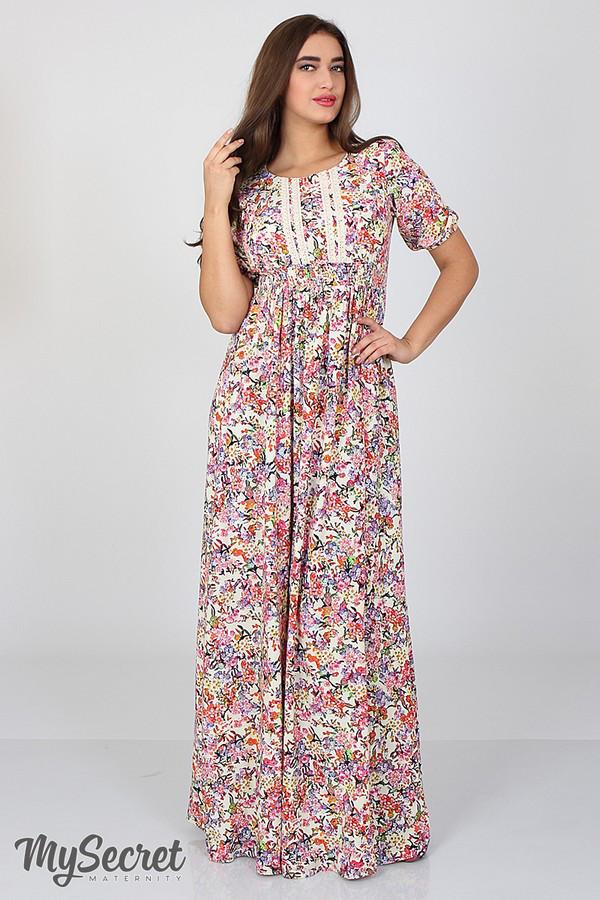 b43a7471287b Платье для беременных и кормящих мам TAMANA - Интернет - магазин