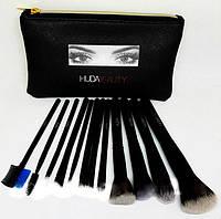 Набор кистей для макияжа 12 штук Huda Beauty, фото 1