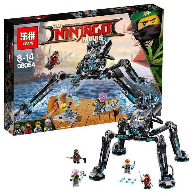 Конструктор Lepin 06054 Ninjago Movie Ниндзяго Муви Водяной Робот 528 дет