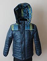 Демисезонная куртка для мальчика 4-6 лет осень-весна, фото 1