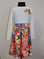 Красивое детское платье 140 размер, фото 1