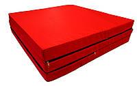 Мат гимнастический раскладной 60*195*5 см, коврик на пол