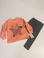 Тёплый костюм бабочка р. 2,3,4 года