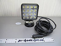 Светодиодные фары LED GV1210-48W Flood на магните , фото 1