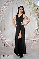 Платье женское с разрезом 3049 НР