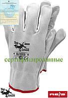Перчатка кожаные рабочие REIS (RAW-POL) Польша RLCSDUO JSW