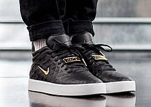 "Кроссовки Nike Tiempo Vetta 17 ""Black & Metallic gold"", фото 2"