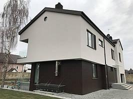 Индивидуальный жилой дом - облицовка HPL панелями