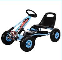 Детская педальная машина веломобиль Карт M 0645-12***