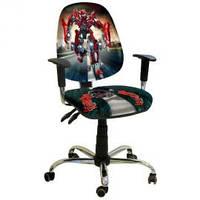 Кресло детское AMF Бридж Хром Дизайн 16 Трансформер  + БЕСПЛАТНАЯ ДОСТАВКА