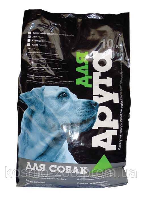 Корм для собак Для друга юниор 10 кг