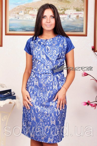 Модное Платье батал Долли фото
