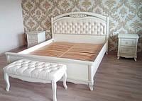 Ліжко Венеція з масиву дерева від вирбника, фото 1