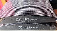 Пилка для ногтей Milano 80/80,100/100,100/180,180/240