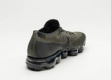 "Кроссовки Nike Air VaporMax Flyknit ""Cargo Khaki / Black"", фото 3"