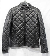 Куртка мужская кожзам молодежная стеганная на молнии размеры 48-56 норма купить оптом со склада 7км Одесса