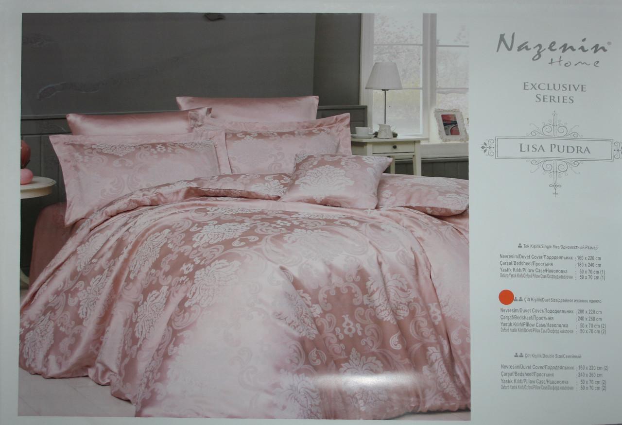 Lisa Pudra постельное белье Евро размера Nazenin home