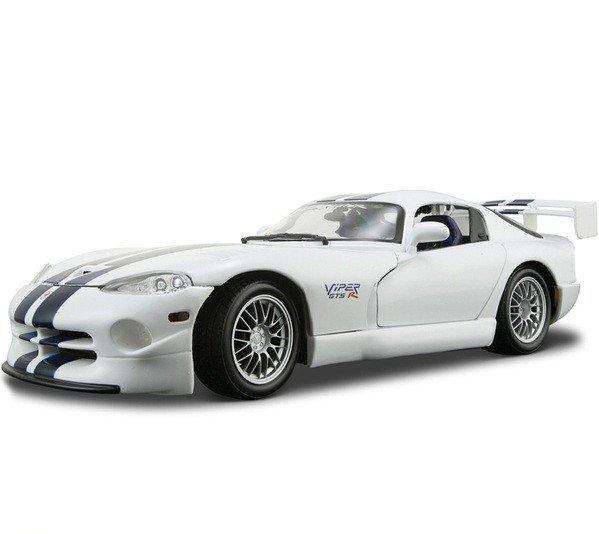 Автомодель (1:18) Dodge Viper GT2 белый