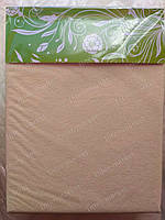 Простынь на резинке непромокаемая махровая 90х200 см, фото 1