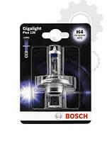 Лампа галогенная BOSCH H4 Gigalight Plus 120% 12V 60/55W, 1 шт, 1987301160