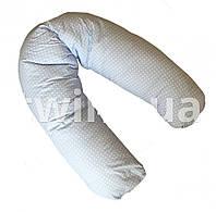Подушка для беременных и кормления Twins, голубой