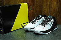 Under armour curry one low white