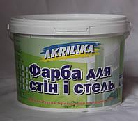 Водоэмульсионная краска Akrilika для внутренних работ (14,0 кг)